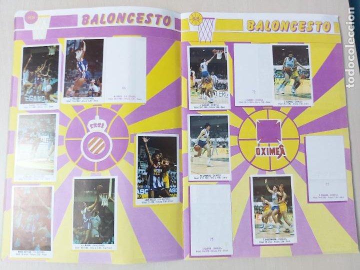 Coleccionismo deportivo: 2 CROMOS JORDAN - ALBUM BALONCESTO 88 NBA CONVERSE J. MERCHANTE FALTAN 23 DE 214 CROMOS - Foto 9 - 267885179