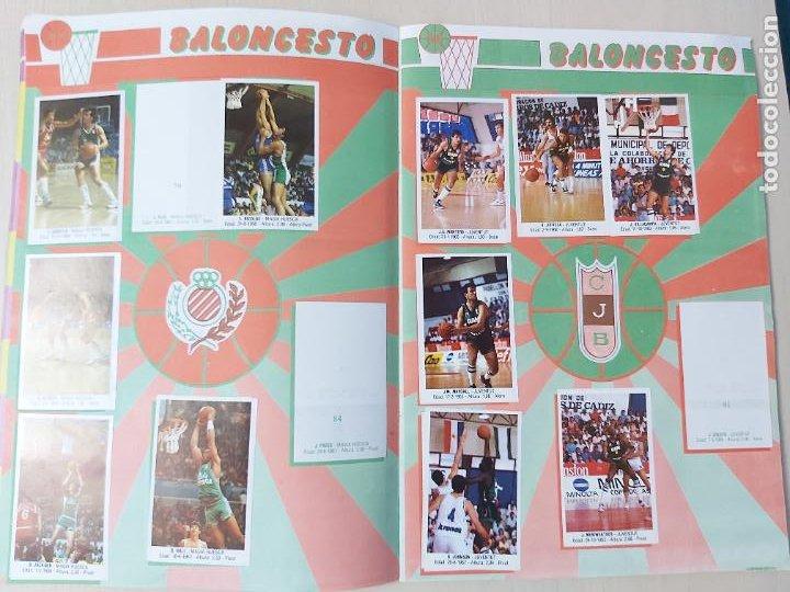 Coleccionismo deportivo: 2 CROMOS JORDAN - ALBUM BALONCESTO 88 NBA CONVERSE J. MERCHANTE FALTAN 23 DE 214 CROMOS - Foto 10 - 267885179