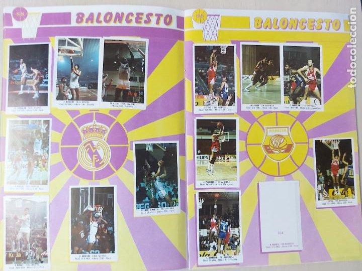 Coleccionismo deportivo: 2 CROMOS JORDAN - ALBUM BALONCESTO 88 NBA CONVERSE J. MERCHANTE FALTAN 23 DE 214 CROMOS - Foto 11 - 267885179