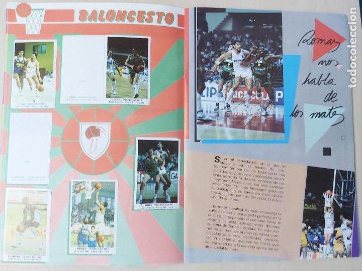 Coleccionismo deportivo: 2 CROMOS JORDAN - ALBUM BALONCESTO 88 NBA CONVERSE J. MERCHANTE FALTAN 23 DE 214 CROMOS - Foto 12 - 267885179