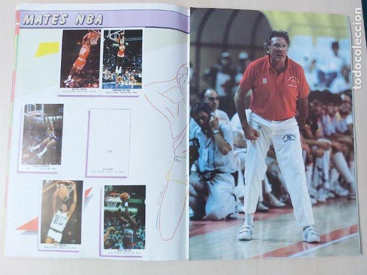 Coleccionismo deportivo: 2 CROMOS JORDAN - ALBUM BALONCESTO 88 NBA CONVERSE J. MERCHANTE FALTAN 23 DE 214 CROMOS - Foto 13 - 267885179