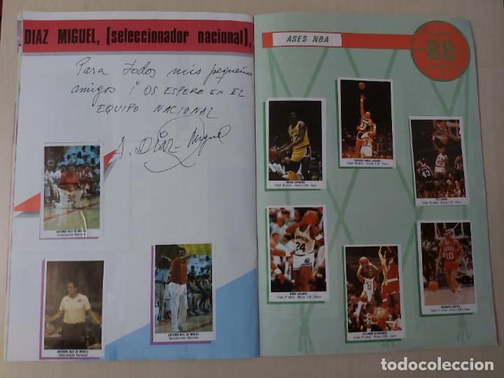 Coleccionismo deportivo: 2 CROMOS JORDAN - ALBUM BALONCESTO 88 NBA CONVERSE J. MERCHANTE FALTAN 23 DE 214 CROMOS - Foto 15 - 267885179