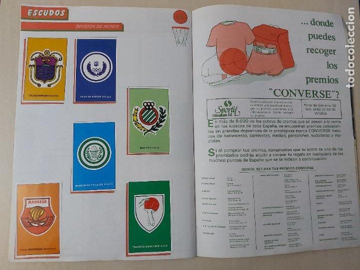 Coleccionismo deportivo: 2 CROMOS JORDAN - ALBUM BALONCESTO 88 NBA CONVERSE J. MERCHANTE FALTAN 23 DE 214 CROMOS - Foto 22 - 267885179