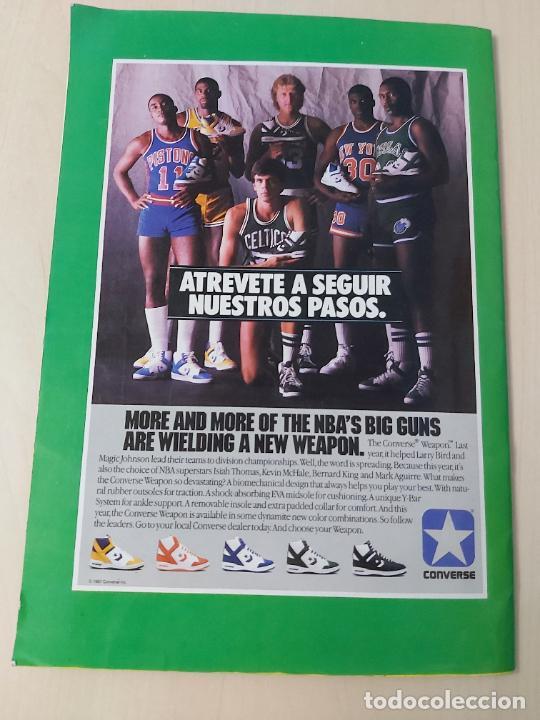 Coleccionismo deportivo: 2 CROMOS JORDAN - ALBUM BALONCESTO 88 NBA CONVERSE J. MERCHANTE FALTAN 23 DE 214 CROMOS - Foto 23 - 267885179