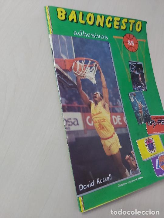 Coleccionismo deportivo: 2 CROMOS JORDAN - ALBUM BALONCESTO 88 NBA CONVERSE J. MERCHANTE FALTAN 23 DE 214 CROMOS - Foto 24 - 267885179