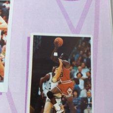 Coleccionismo deportivo: 2 CROMOS JORDAN - ALBUM BALONCESTO 88 NBA CONVERSE J. MERCHANTE FALTAN 23 DE 214 CROMOS. Lote 267885179