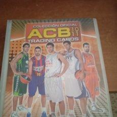 Coleccionismo deportivo: ALBUM ORIGINAL ACB 2010-2011 PANINI. Lote 268838069