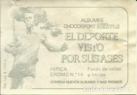 Coleccionismo deportivo: CROMOS DE HIPICA - FOTOS - Foto 2 - 268846629
