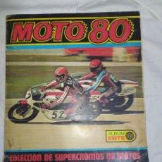 Coleccionismo deportivo: ALBUM DE MOTOS DE LOS AÑOS 70-- DE 200 CROMOS SOLO LE FALTAN 9-- ESTÁ CASI COMPLETO, COMO SE VE. Lote 268963774