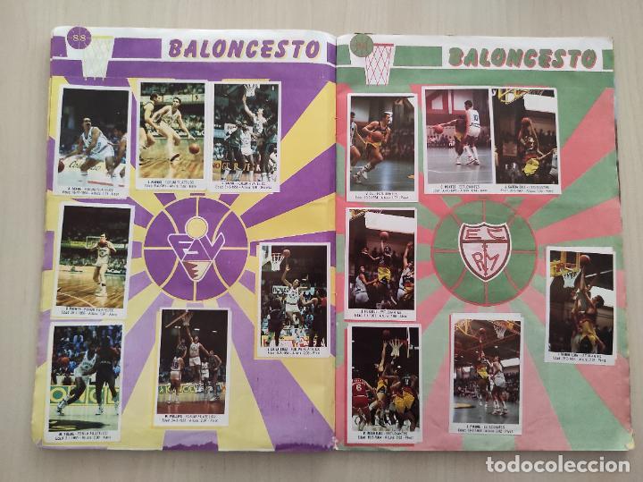 Coleccionismo deportivo: ALBUM COMPLETO BALONCESTO 1988 CROMOS LIGA ACB 87/88 NBA 2 JORDAN STICKER BASKET MERCHANTE CONVERSE - Foto 6 - 273721298