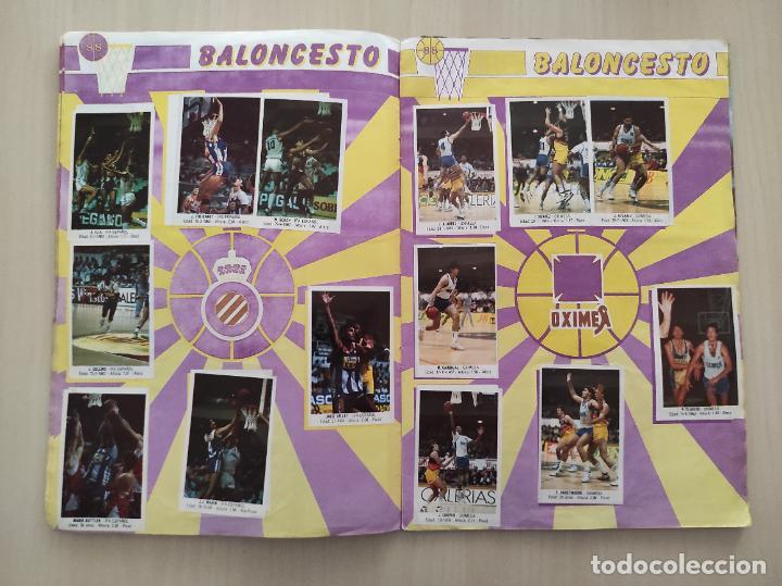 Coleccionismo deportivo: ALBUM COMPLETO BALONCESTO 1988 CROMOS LIGA ACB 87/88 NBA 2 JORDAN STICKER BASKET MERCHANTE CONVERSE - Foto 7 - 273721298