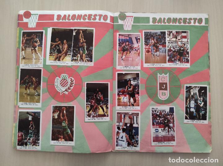Coleccionismo deportivo: ALBUM COMPLETO BALONCESTO 1988 CROMOS LIGA ACB 87/88 NBA 2 JORDAN STICKER BASKET MERCHANTE CONVERSE - Foto 8 - 273721298