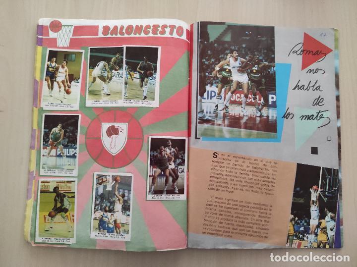 Coleccionismo deportivo: ALBUM COMPLETO BALONCESTO 1988 CROMOS LIGA ACB 87/88 NBA 2 JORDAN STICKER BASKET MERCHANTE CONVERSE - Foto 11 - 273721298