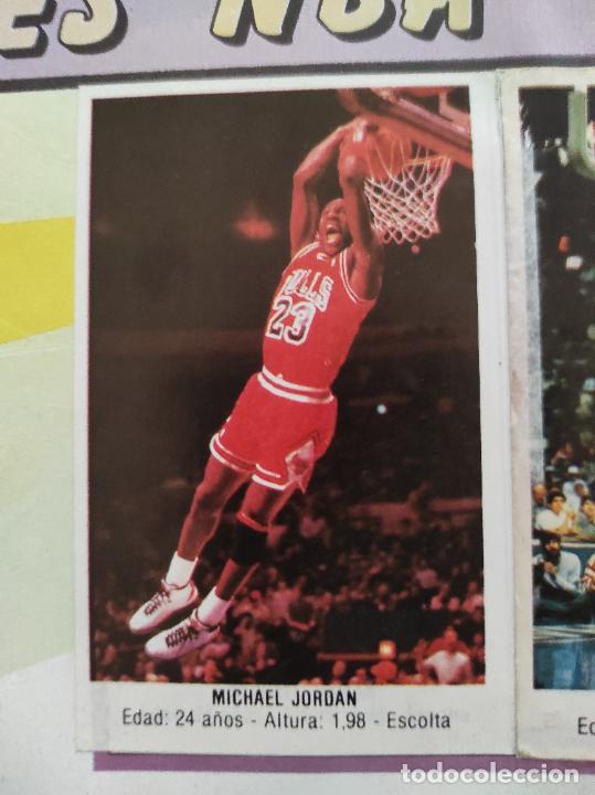 Coleccionismo deportivo: ALBUM COMPLETO BALONCESTO 1988 CROMOS LIGA ACB 87/88 NBA 2 JORDAN STICKER BASKET MERCHANTE CONVERSE - Foto 12 - 273721298