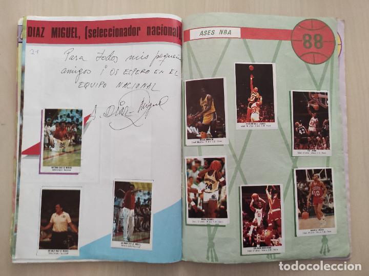 Coleccionismo deportivo: ALBUM COMPLETO BALONCESTO 1988 CROMOS LIGA ACB 87/88 NBA 2 JORDAN STICKER BASKET MERCHANTE CONVERSE - Foto 13 - 273721298