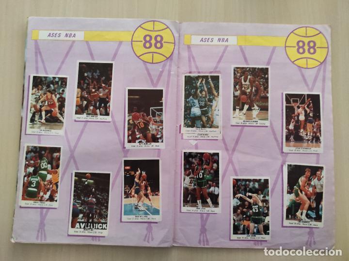 Coleccionismo deportivo: ALBUM COMPLETO BALONCESTO 1988 CROMOS LIGA ACB 87/88 NBA 2 JORDAN STICKER BASKET MERCHANTE CONVERSE - Foto 16 - 273721298