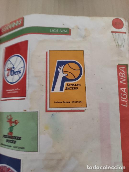 Coleccionismo deportivo: ALBUM COMPLETO BALONCESTO 1988 CROMOS LIGA ACB 87/88 NBA 2 JORDAN STICKER BASKET MERCHANTE CONVERSE - Foto 19 - 273721298