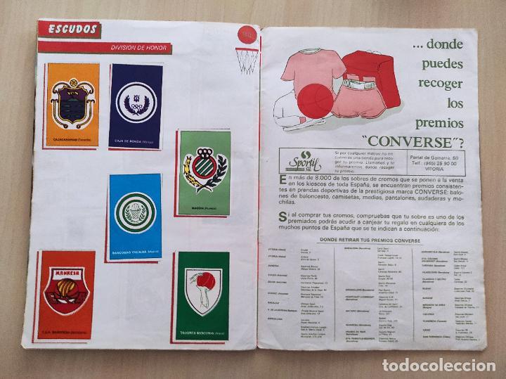 Coleccionismo deportivo: ALBUM COMPLETO BALONCESTO 1988 CROMOS LIGA ACB 87/88 NBA 2 JORDAN STICKER BASKET MERCHANTE CONVERSE - Foto 21 - 273721298