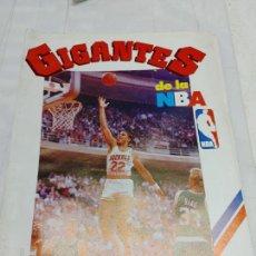 Coleccionismo deportivo: ÁLBUM GIGANTES DE LA NBA. AÑO: 1987. DE LA REVISTA GIGANTES DEL BASQUET SIN USO. Lote 275519358
