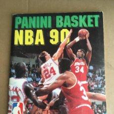 Coleccionismo deportivo: PANINI BASKET NBA 90 MICHAEL JORDAN ALBUM DE CROMOS COMPLETO MUY BUEN ESTADO. Lote 275879663