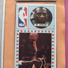 Coleccionismo deportivo: ALBUM COMPLETO CAMPEONATO DE LIGA BALONCESTO 1986/1987 BASKET 86/87 - JORDAN ROOKIE NBA - MERCHANTE. Lote 275922983