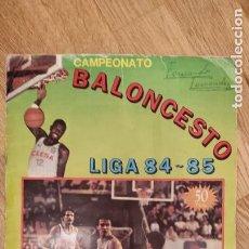 Coleccionismo deportivo: ÁLBUM BALONCESTO LIGA 84 - 85 CLESA CON 115 CROMOS . IDEAL PARA RECUPERAR CROMOS. Lote 276226913