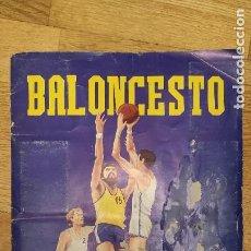 Coleccionismo deportivo: ÁLBUM BALONCESTO LIGA 84 - 85 EUROCROM . MUY DIFÍCIL. Lote 276227583
