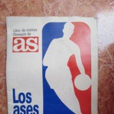 Coleccionismo deportivo: ÁLBUM CROMOS AS LOS ASES DE LA NBA - 1989 - MICHAEL JORDAN - MAGIC JOHNSON -C.BARKLEY COMPLETO LEER. Lote 276567088