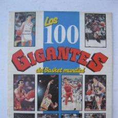 Coleccionismo deportivo: ÁLBUM DE CROMOS - LOS 100 GIGANTES DEL BASKET MUNDIAL - AÑO 1987.. Lote 278765408