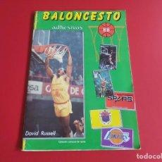 Coleccionismo deportivo: ALBUM INCOMPLETO CROMOS BALONCESTO 88 EDITORIAL J.MERCHANTE-CONTIENE CROMOS COMO LARRY BIRD,BOL.... Lote 278839418