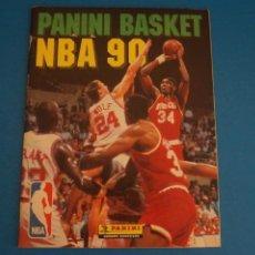 Coleccionismo deportivo: ALBUM INCOMPLETO DE BALONCESTO PANINI BASKET NBA 90 DE PANINI. Lote 278879853