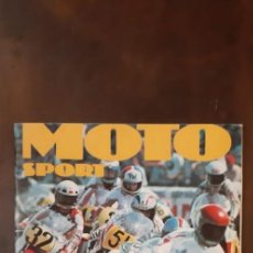 Coleccionismo deportivo: ÁLBUM CROMOS MOTO SPORT DE CROMO CROM - PANINI.. Lote 280734523