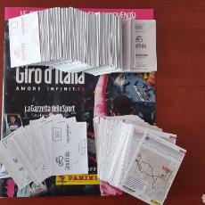 Coleccionismo deportivo: PANINI GIRO DE ITALIA 101, COMPLETA, SIN PEGAR. Lote 282896168