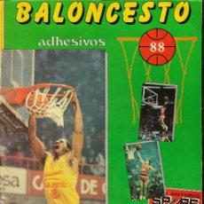 Coleccionismo deportivo: ALBUM DE CROMOS - BALONCESTO 88 - A FALTA DE 14 CROMOS - J. MERCHANTE -. Lote 286063743