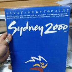 Coleccionismo deportivo: SIDNEY 2000. EL PAIS. Lote 286149713