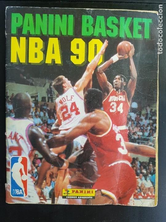 ÁLBUM CROMOS BASKET PANINI NBA 90 MUY COMPLETO BALONCEST0 1990 (Coleccionismo Deportivo - Álbumes otros Deportes)