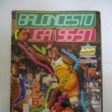 Coleccionismo deportivo: ALBUM DE CROMOS INCOMPLETO BALONCESTO LIGA 96 - 97. MUNDICROMO. Lote 287061948