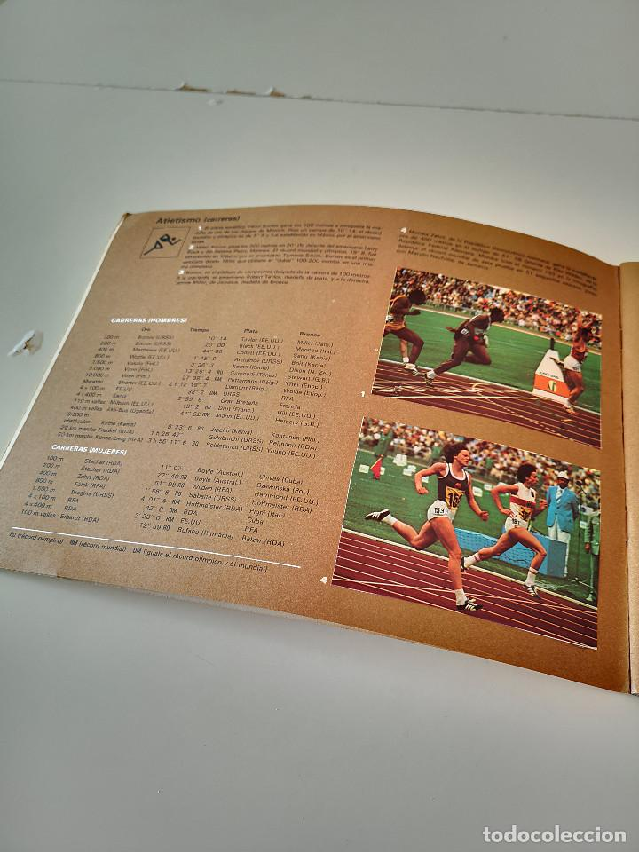 Coleccionismo deportivo: ALBUM DE CROMOS COMPLETO CAMPEONES OLÍMPICOS DEPORTES SALVAT PAMPLONA AÑO 1973 - Foto 3 - 287104218
