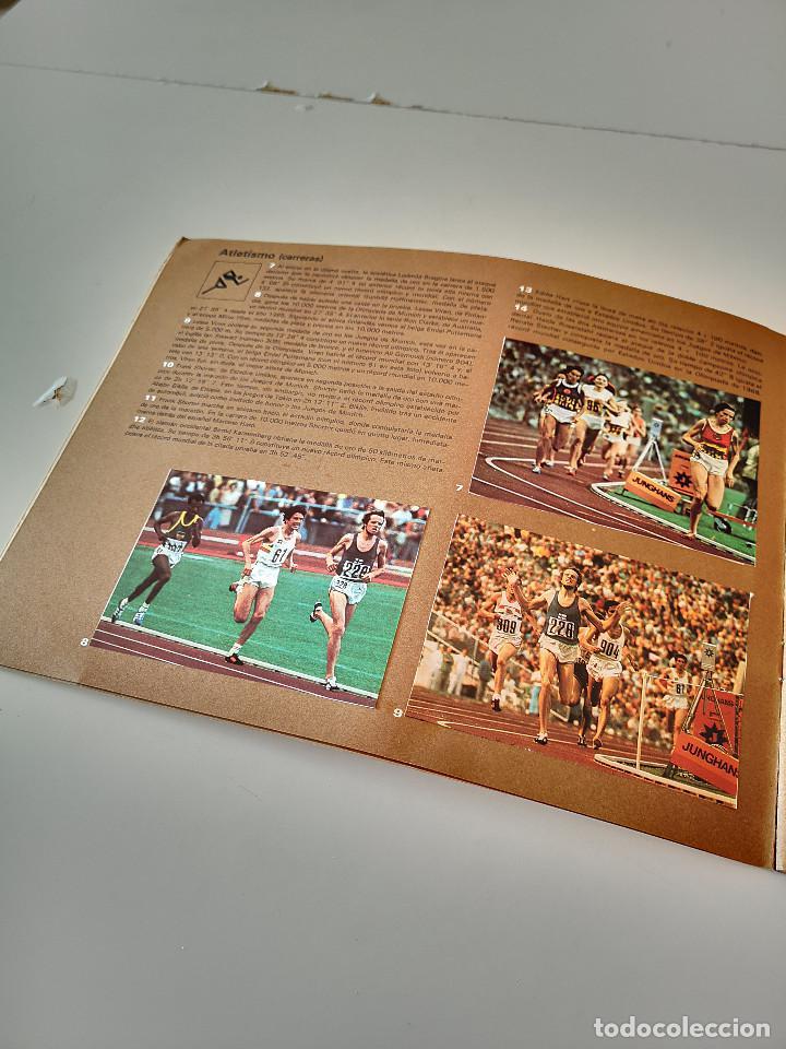 Coleccionismo deportivo: ALBUM DE CROMOS COMPLETO CAMPEONES OLÍMPICOS DEPORTES SALVAT PAMPLONA AÑO 1973 - Foto 5 - 287104218
