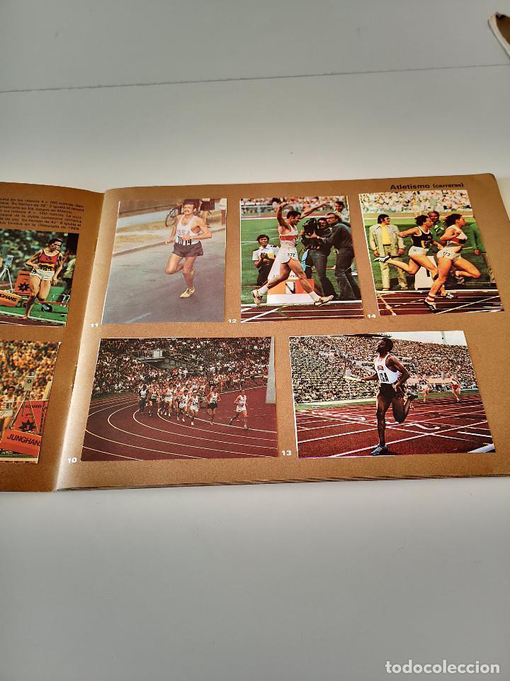 Coleccionismo deportivo: ALBUM DE CROMOS COMPLETO CAMPEONES OLÍMPICOS DEPORTES SALVAT PAMPLONA AÑO 1973 - Foto 6 - 287104218