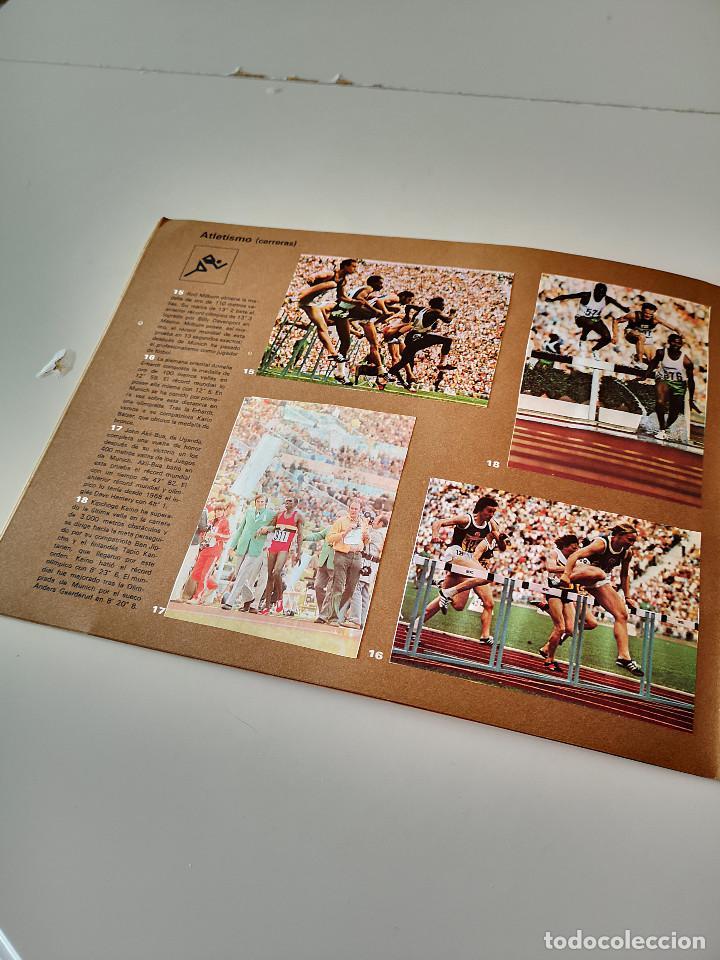 Coleccionismo deportivo: ALBUM DE CROMOS COMPLETO CAMPEONES OLÍMPICOS DEPORTES SALVAT PAMPLONA AÑO 1973 - Foto 7 - 287104218