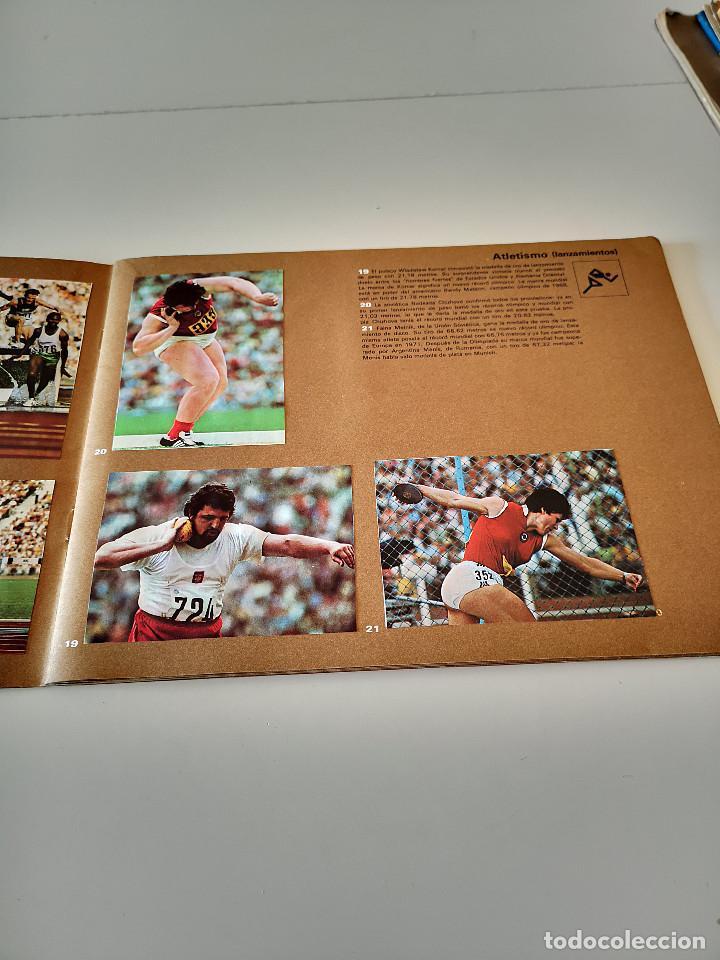 Coleccionismo deportivo: ALBUM DE CROMOS COMPLETO CAMPEONES OLÍMPICOS DEPORTES SALVAT PAMPLONA AÑO 1973 - Foto 8 - 287104218