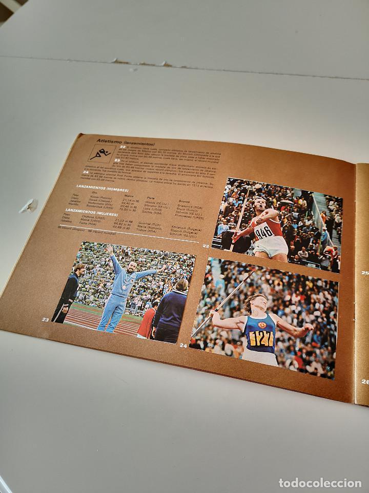 Coleccionismo deportivo: ALBUM DE CROMOS COMPLETO CAMPEONES OLÍMPICOS DEPORTES SALVAT PAMPLONA AÑO 1973 - Foto 9 - 287104218