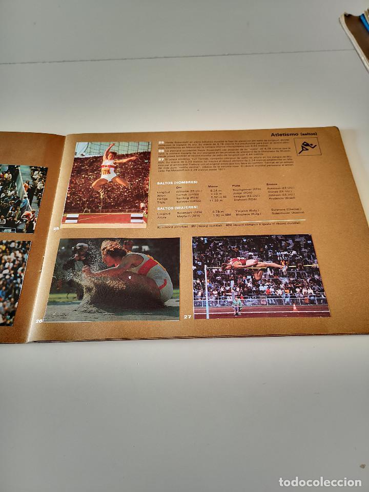 Coleccionismo deportivo: ALBUM DE CROMOS COMPLETO CAMPEONES OLÍMPICOS DEPORTES SALVAT PAMPLONA AÑO 1973 - Foto 10 - 287104218