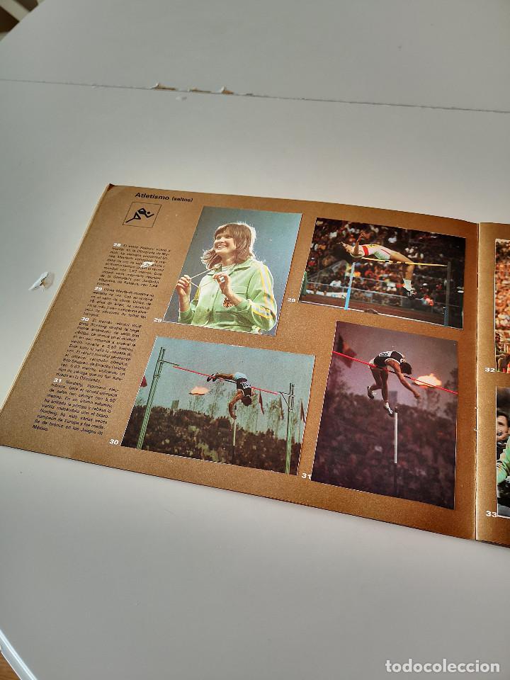 Coleccionismo deportivo: ALBUM DE CROMOS COMPLETO CAMPEONES OLÍMPICOS DEPORTES SALVAT PAMPLONA AÑO 1973 - Foto 11 - 287104218