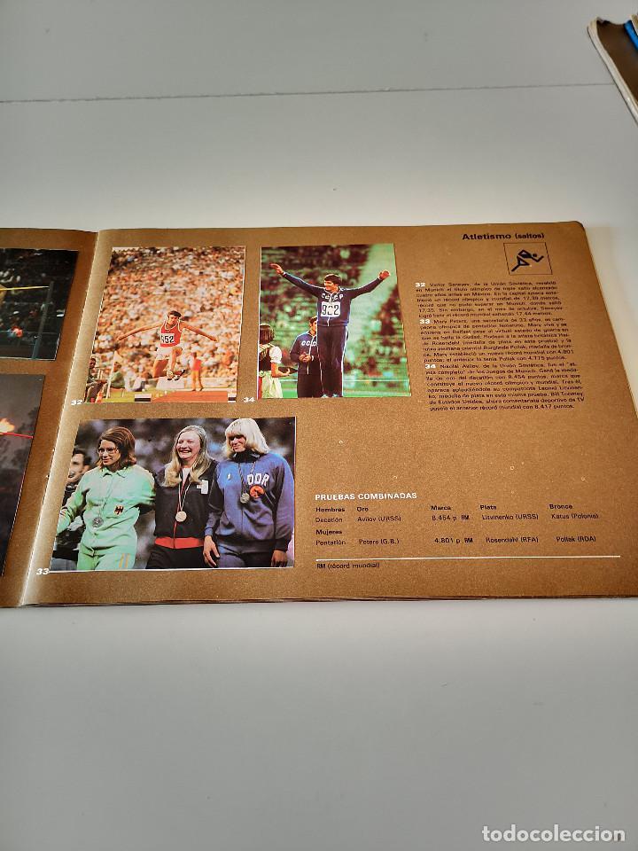 Coleccionismo deportivo: ALBUM DE CROMOS COMPLETO CAMPEONES OLÍMPICOS DEPORTES SALVAT PAMPLONA AÑO 1973 - Foto 12 - 287104218