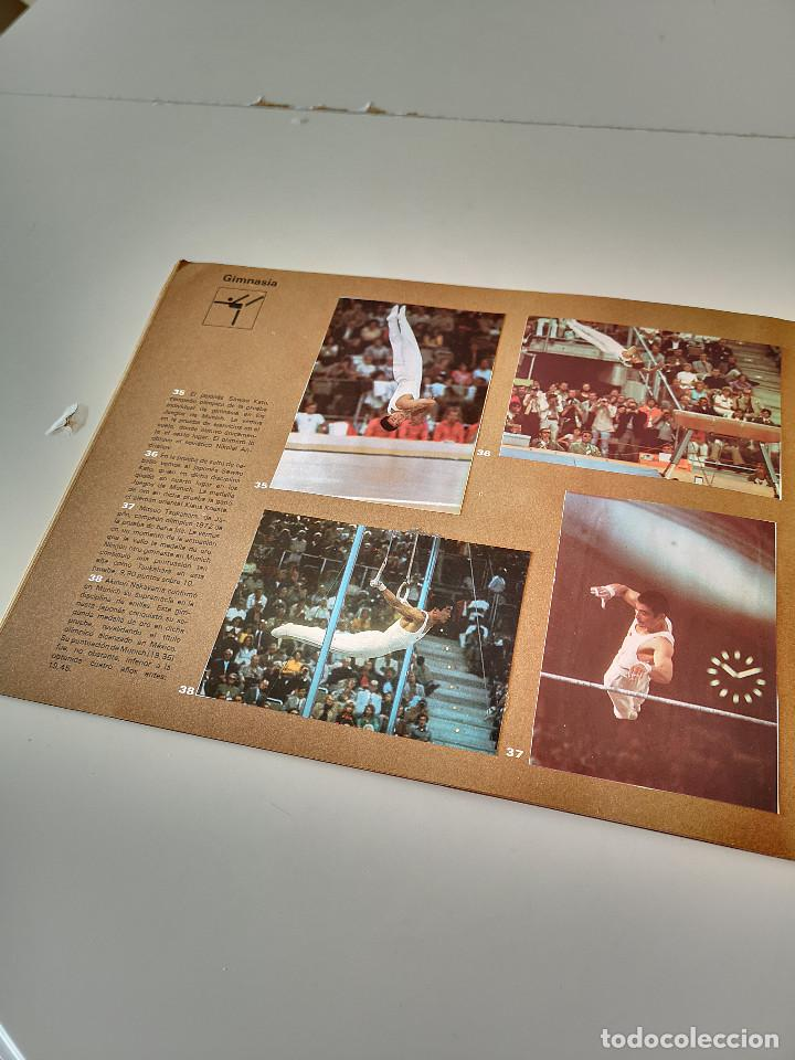 Coleccionismo deportivo: ALBUM DE CROMOS COMPLETO CAMPEONES OLÍMPICOS DEPORTES SALVAT PAMPLONA AÑO 1973 - Foto 13 - 287104218