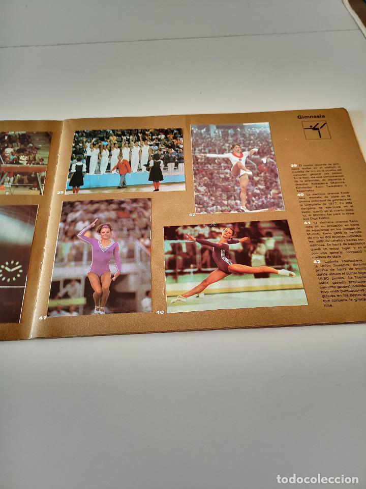 Coleccionismo deportivo: ALBUM DE CROMOS COMPLETO CAMPEONES OLÍMPICOS DEPORTES SALVAT PAMPLONA AÑO 1973 - Foto 14 - 287104218