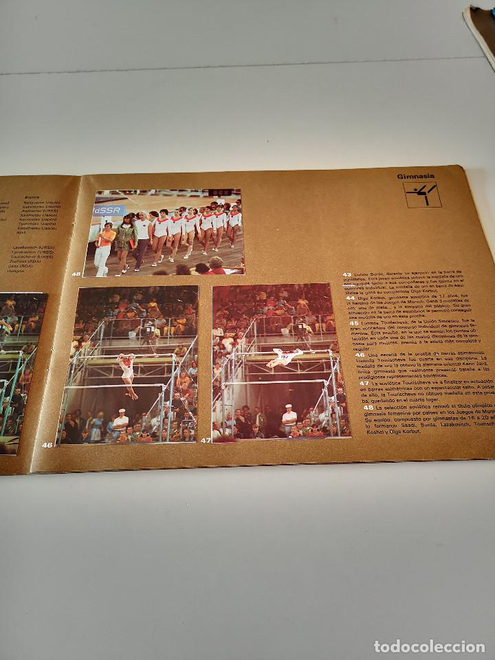 Coleccionismo deportivo: ALBUM DE CROMOS COMPLETO CAMPEONES OLÍMPICOS DEPORTES SALVAT PAMPLONA AÑO 1973 - Foto 16 - 287104218