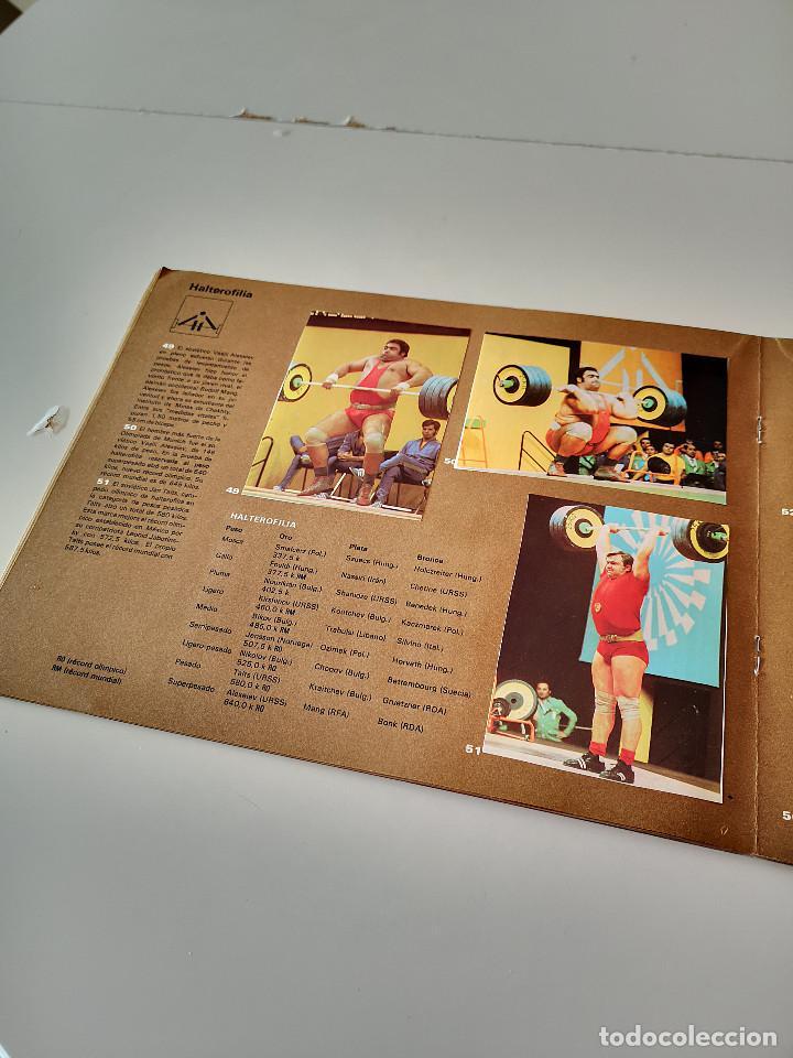 Coleccionismo deportivo: ALBUM DE CROMOS COMPLETO CAMPEONES OLÍMPICOS DEPORTES SALVAT PAMPLONA AÑO 1973 - Foto 17 - 287104218